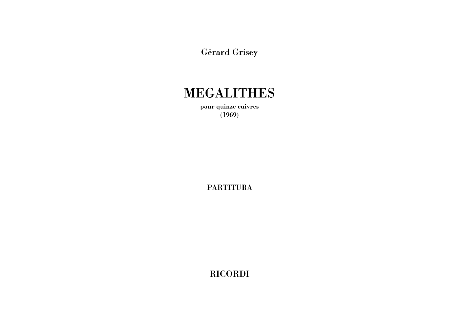 Megalithes (flipbook)