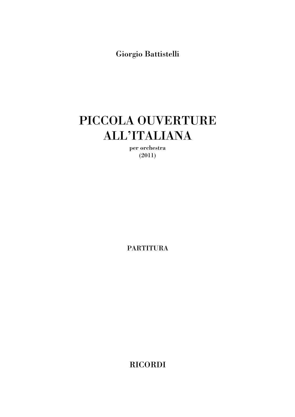 Piccola Ouverture all'Italiana (flipbook)