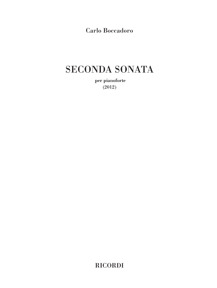Seconda Sonata (flipbook)