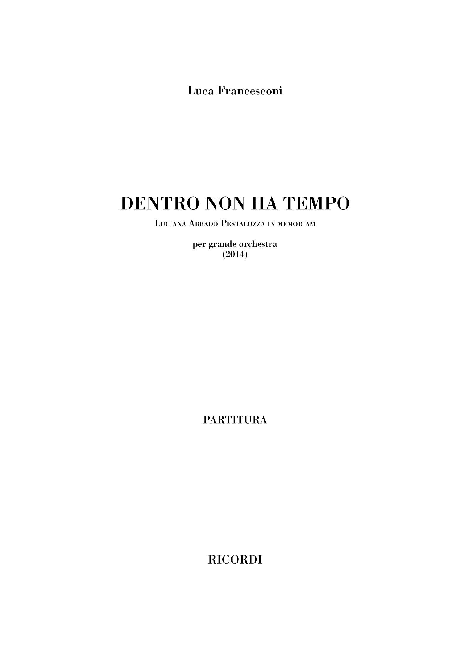 Dentro non ha tempo (flipbook)