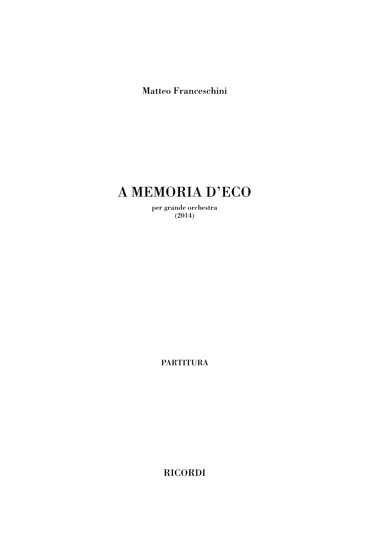 A memoria d'eco (flipbook)