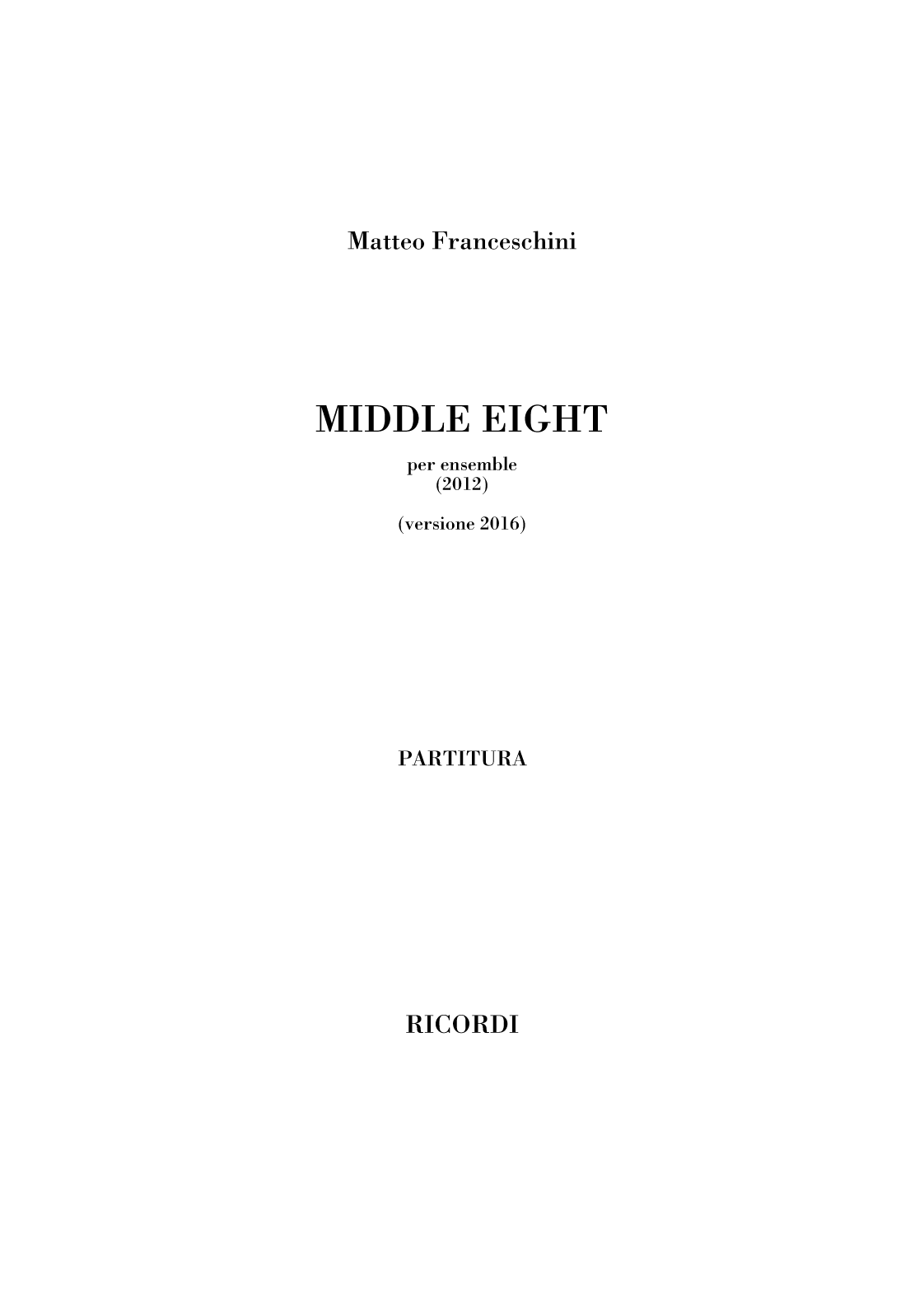 Middle Eight (flipbook)